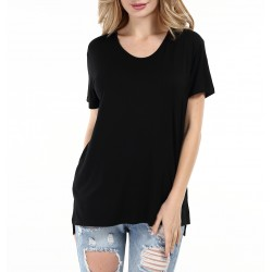 Women's Casual Solid Short...